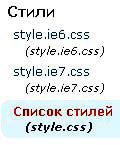 стили блога WordPress